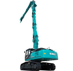 ビル解体専用機(建設リサイクル機械)